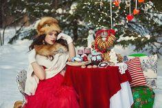 Winter wedding inspiration shoot