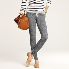 j.crew skinny sweats....loungerrific. thought this pic was so cute and then i realized i totally have these.