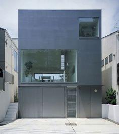 Contemporary Industrial Designer House by Koji Tsutsui