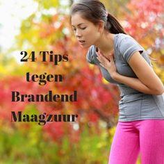 Brandend maagzuur is super vervelend. Daarom heb ik 24 tips die je kunt toepassen om van brandend maagzuur af te komen. Tips voor je dieet en levensstijl.