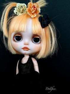 Bambi by DollFace. I fixed it myself for my new Forever Mom. Gothic Dolls, Creepy Dolls, Little Doll, Hello Dolly, Custom Dolls, Ball Jointed Dolls, Doll Face, Big Eyes, Blythe Dolls