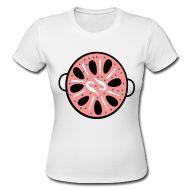 25,40 € . Camisetas ~ Mujeres camiseta femenina ~ Camiseta Mujeres, Paella, comprar