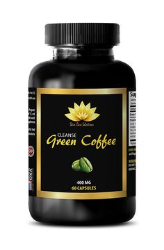 Skin care support - NATURAL GREEN COFFEE BEAN EXTRACT CLEANSE 400 mg - Green coffee - 1 Bottle 60 Capsules -- Find out more about the great product at the image link.