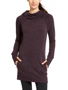 Athleta Blissful Hoodie Dress Love casual styles like this
