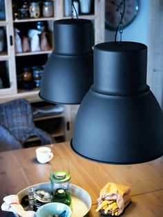 The HEKTAR pendant lamp (part of a series) is incredible! Simply loving it. ($69.99)