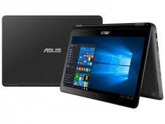 "Notebook 2 em 1 Asus Vivobook TP301 Intel Core i5 - 4G 1TB LED 13,3"" Touch Screen Windows 10"