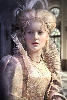 Elizabeth  Throckmorton (Bess) by JosefinaCS.deviantart.com on @deviantART