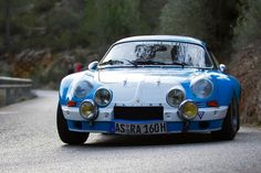 "Renault Alpine A110  The Alpine A110, also known as the ""Berlinette"", was a sports car produced by the French manufacturer Alpine from 1961 to 1977."