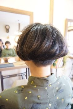 ... hair - short and blunt on Pinterest | Shaved Nape, Angled Bobs  Nape