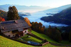 The San Lorenzo Mountain Lodge in Pustertal, Italy by Dellago Architekten and Biquadra Innenarchitektur