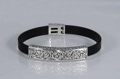 """Handmade Sterling """"Byzantine Style"""" Bracelet by ExclusiveSilverArt on Etsy Bracelets For Men, Fashion Bracelets, Bracelet Men, Greek Design, Byzantine, Handmade Silver, Sterling Silver Bracelets, 925 Silver, Artisan"""