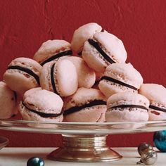 Raspberry Chocolate French Macaroons Recipe - ZipList