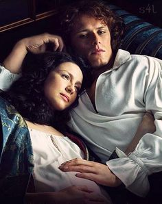 Jamie & Claire from the Outlander series - sassenach4life:   The Frasers ~ Season 2