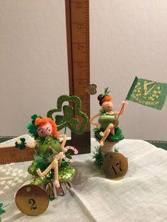 Pipecleaner Figure Figurine St. Patricks Day by DaffodilLaneStudio