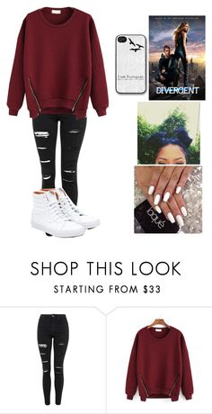 """Divergent Day"" by musicmaniac12 ❤ liked on Polyvore featuring Topshop, Vans, women's clothing, women's fashion, women, female, woman, misses, juniors and candor"