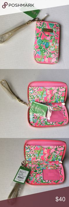 Lilly Pulitzer wristlet, Southern Charm ❤ New with tags, adorable wristlet in Southern Charm! Lilly Pulitzer Bags