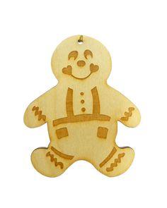 Gingerbread Man Ornament - Gingerbread Man Ornaments - Gingerbread Man Gift - Gingerbread Man Gifts - Personalized Free