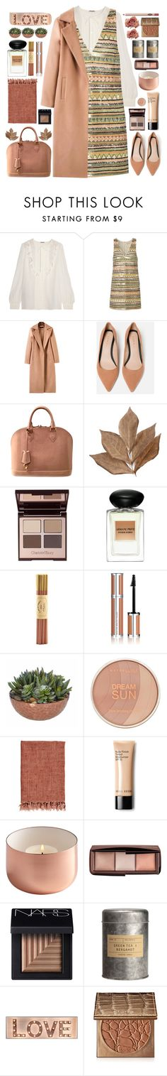 """""""Layers"""" by doga1 ❤ liked on Polyvore featuring Miu Miu, Alice + Olivia, Louis Vuitton, Bliss Studio, Charlotte Tilbury, Giorgio Armani, Fine & Candy, Givenchy, Maybelline and Bobbi Brown Cosmetics"""