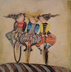 Graciela Boulanger Holiday on Wheels van LublinGraphics op Etsy, $75.00
