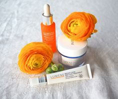 Blogger Minna has been using Lumene Bright Now Vitamin C products for years - and she fell in love with our brand new innovations as well. #skincare #lumene