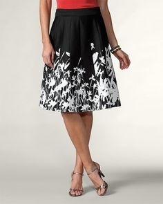 4b6411a9ea0 Chalkboard flare skirt  99.95 I love flare skirts and this one is perfect.  Cute Skirts