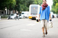 Style Hunter: Giant Scarves - Gallery - Style.com