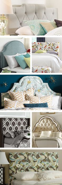 Panel headboards are classic and traditional. Pair with a tailored bed skirt and add a bench at the foot of the bed a for sophisticated look. Or give your bedroom a luxurious feel with a headboard upholstered in silk-like fabric. Visit Wayfair and sign up today to get access to exclusive deals everyday up to 70% off. Free shipping on all orders over $49.