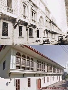 Dito, Noon: Ateneo de Manila, 1881 x 2019. #kasaysayan — Ateneo de Manila was founded by the Jesuits in 1858. Their original building, along Calle Real corner Calle Sta. Lucia, was destroyed by fire in 1932; prompting the move of the campus to Padre Faura, then Quezon City. Quezon City, Present Day, Manila, Philippines, Pop Culture, Corner, Fire, The Originals, Building