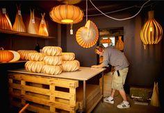 Flaco Design: possible living room pendant lamp. Total hygge.