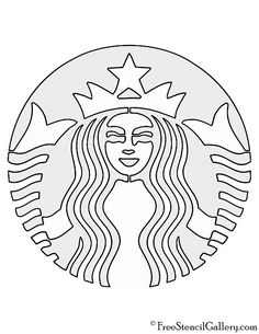 Starbucks Logo Coloring Pages Starbucks Logo, Starbucks Cake Pops, Starbucks Coffee Cups, Starbucks Crafts, Starbucks Cookies, Starbucks Caramel, Starbucks Pumpkin, Birthday Cake With Photo, Birthday Cake Pops