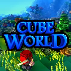 Another indie computer game under development, this one featuring more adorable, blocky, cartoon graphics, which I love. It's an open, endless world action RPG called Cube World. Looks very cute and fun overall and has a huge variety of tamable animals, hostile monsters, and helpful people, as well as items for your customizable character, but is currently lacking in depth and a lasting fresh gameplay experience