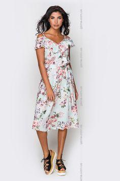 a83a9ae90b2 Платье женское. Платья. Цвет  зеленый.  4031540