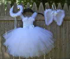 Angel Costume, Tutu Dress - cute idea for Jacqueline