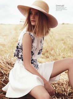 """Country Girl"" from the editorial ""Field of Dreams"" 