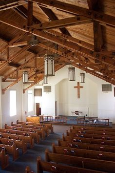 Longview TX - Speer Chapel , Harmon General Hospital Chapel,  Interior
