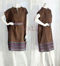 Blouse Batik, Batik Dress, Blouse Dress, Lovely Dresses, Simple Dresses, Batik Fashion, African Wear, Little Girl Dresses, Traditional Dresses