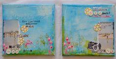 Duo de canvas réalisé par Annabel DT ISDesign http://infinimentblog.canalblog.com/archives/2015/08/12/index.html