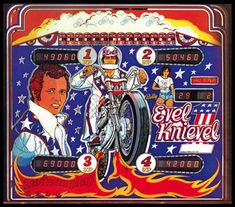 Evil Knievel Pinball