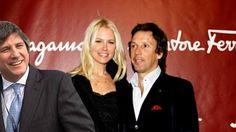 El desconocido vínculo de Boudou con el marido de Valeria Mazza