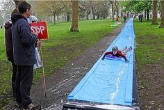 Bristol Park Street water slide numbers slashed by health and ...