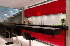 Contemporary Basement Design, Pictures, Remodel, Decor and Ideas - page 17