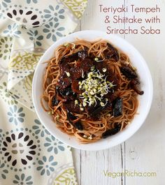 ... Sriracha Recipes on Pinterest | Tofu, Tempeh and Vegan Vegetarian