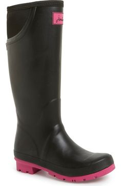 Joules 'Neola' Rain Boot (Women) available at #Nordstrom