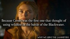 1015. Because Cersei was the first one that thought of using wildfire in the battle of the Blackwater.  whywelovethelannisters.  Game of Thrones.