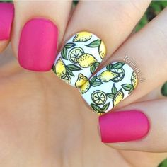 Nail art on We Heart It