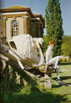 An Immaculate Tale by Tim Walker for Casa Vogue, October 2010