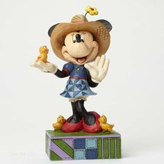 Jim Shore Disney Traditions Farmer Minnie 4049636 NEW