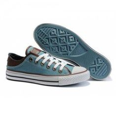 Converse All Star Chuck Taylor Miller Shoes Lo-top Blue Sock Shoes, Cute Shoes, Me Too Shoes, Shoe Boots, Shoes Sandals, Heels, Converse Sneakers, Converse All Star, Converse Chuck Taylor All Star