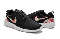 Nike Blazers High Tops Fleurs Femmes Chaussures Blanc O