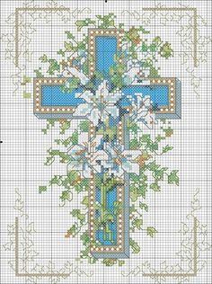 Схемы вышивки к Пасхе / Вышивка / Вышивка крестом